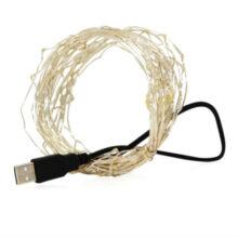 ریسه ال ای دی مفتولی USB طول ۱۰ متر